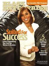 Magazine Black Enterprise February 2007Top Executive MBA Programs Joi Gordon