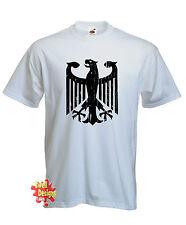 Alemán ESCUDO CON ÁGUILA Alemania Alemania camiseta de Fútbol Todas Las Tallas