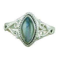 925 Sterling Silver Labradorite Hottest Designer Ring ASZ-L O Q S