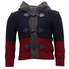 3529V maglione bimbo ASTON MARTIN cardigan blue sweater boy kid