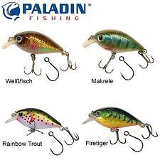 Paladin Trickfisch Wobbler Mini King 4cm 3g - Barschwobbler zum Spinnfischen
