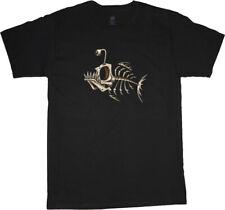 big and tall t-shirt fish bones fishing graphic tee shirt tall shirts for men