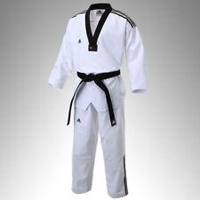 Adidas Official Taekowndo New 3 Line Fighter Uniform Dobok Gi Kukkiwon Approved