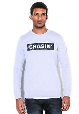 Chasin Herren Sweatshirt LOW BOX Grau Tin Grey Melange