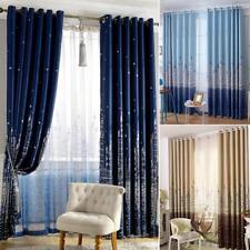 100x250cm Castle Blackout Window Panel Pad Grommet Curtain Drape Bedroom Decor