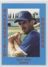 1988 Cal League California #244 Billy Argo Bakersfield Dodgers Baseball Card