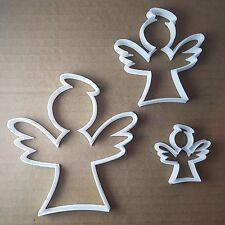 Ange de Noël de Noël Forme Cookie Cutter Pâte Biscuit Pâtisserie Fondant Sharp
