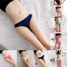 Womens Seamless V-string Briefs Panties Thongs G-string Lingerie Underwear Girls
