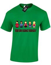 THE BIG BRICK THEORY MENS T-SHIRT SHELDON BANG COOPER PENNY FUNNY LEGO (COL)
