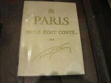 Sacha GUITRY: Si Paris nous était conté... ed n°tée