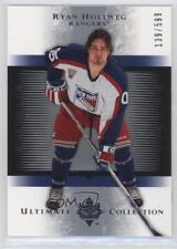 2005-06 Ultimate Collection 157 Ryan Hollweg New York Rangers Rookie Hockey Card