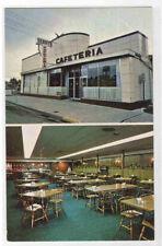 Terry's Cafeteria Piqua Ohio 1960s postcard