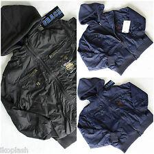 Grace Boys Hooded Winter Jacket Black Navy Gray Coat Size 02 3t 4 5 6 7 years