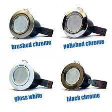 10 X LED Lámparas Fuego nominal 5W GU10 Bombillas de inclinación Inclinable Techo downlighters