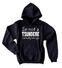 Tsundere Hoodie - I'm Not a Tsundere Anime Sweatshirt Kawaii Fairy Kei Cosplay