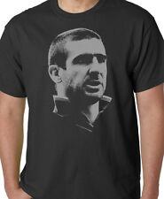 Eric Cantona Herren Fußball Legende T Shirt Man Utd Frankreich Casual Top Geschenk T42