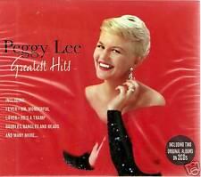 PEGGY LEE GREATEST HITS 2 CD BOX SET