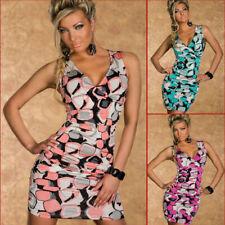 Womens Mini Sleeveless Dress Hot Fashion Top Size 6-8-10 Party Club Wear Casual