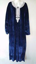 Abaya Maxi abito caftano in arabo Abito di velluto Vestito invernale