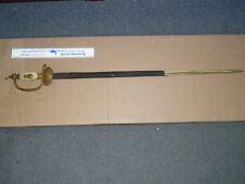 PEARL HANDLED ROBERT HERMES SOLIGEN SWORD WITH TWO HEADED EAGLE GUARD