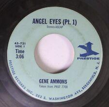 Jazz 45 Gene Ammons - Angel Eyes (Pt. 1) / Angel Eyes (Pt. 2) On Prestige Record