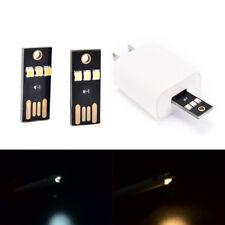 1/3pcs portable mini usb power 3 led touch dimmer lamp pure/warm white light WH