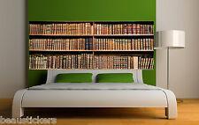 Adesivo testata del letto decorazione da muro Biblioteca ref 3664 (5 dimensioni)