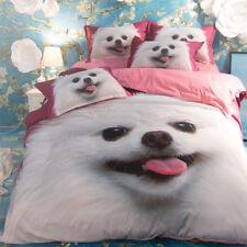 3D Pomeranian Kid 890 Bed Pillowcases Quilt Duvet Cover Set Single Queen King CA