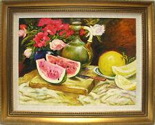 STILL IMPRESSIONISM Original painting-103x128 cm framed
