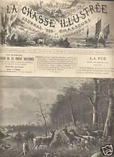 LA CHASSE ILLUSTREE 1893 N 38 LA PIE MODE DESTRUCTION