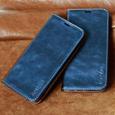 Luxus Funda para Apple y Samsung Smartphone Funda Protectora Móvil azul