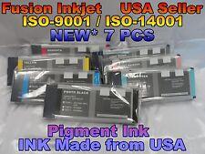 7 INK Compatible Epson Stylus Pro 4000 7600 9600 220ml cartridges pigment ss tan