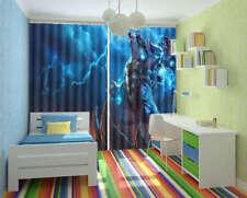 Powerful Game Hero Volibear 3D Curtain Blockout Photo Print Curtain Drape Fabric