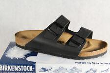 Birkenstock Arizona Pantolette Pantoletten Sandale Hauschuhe schwarz 051791 NEU!