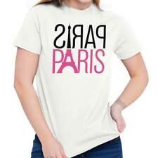 Cute Paris Girly Women Shirts Funny Picture Shirt Cute Gift Ladies T Shirt
