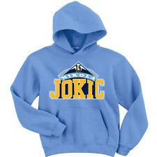 """Nikola Jokic Denver Nuggets """"Logo"""" shirt Hooded SWEATSHIRT HOODIE"""