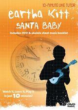 CHRISTMAS UKULELE SANTA BABY EARTHA KITT  DVD UKULELE LEARN TO PLAY TUTORIAL