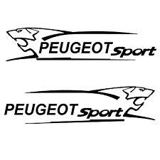 2x stickers peugeot sport