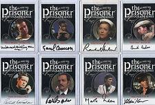 The Prisoner Autograph Prop & Costume Card Selection NM
