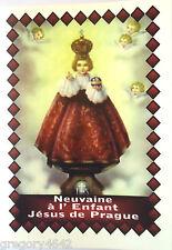 LIVRET NEUVAINE DE L ENFANT JESUS DE PRAGUE