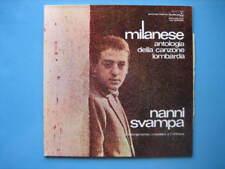 """NANNI SVAMPA """"Milanese"""" Antologia canzone lombarda 2-LP"""