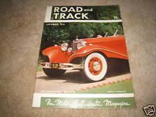 Road & Track magazine September 1951 Muntz Jet Mercedes 540-K Aston Martin