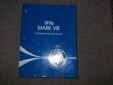 1996 Ford Lincoln Mark VIII 8 Workshop Service Repair Shop Manual OEM Factory