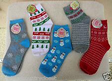 HOLIDAY SOCKS~Christmas Designs Vary~Adult Ladies Size 9-11~NWT~FREE SHIP