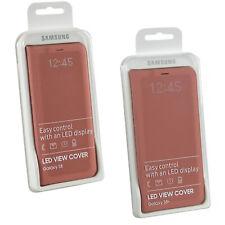 Véritable Samsung Galaxy S8 Intelligent Led Porte-Feuille Notification