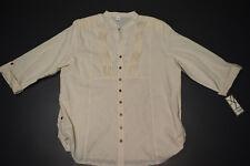 Damenbluse 3/4 Arm Bluse Hemd ..Größe XL,XXL,XXXL
