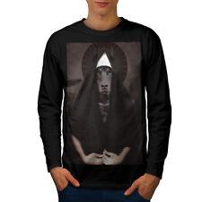 Doberman Animal Funny Dog Men Long Sleeve T-shirt New | Wellcoda