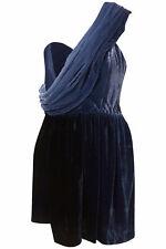 TOPSHOP unique velvet dress  size 6/8
