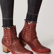 FREEBIRD by Steven Women's Lazor Ankle Boot red NIB MRSP $ 245.