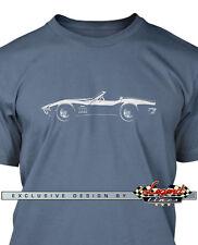 Chevrolet Corvette 1969 Convertible T-Shirt for Men - Multiple Colors and Sizes